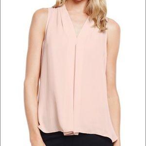 Vince Camuto blush blouse